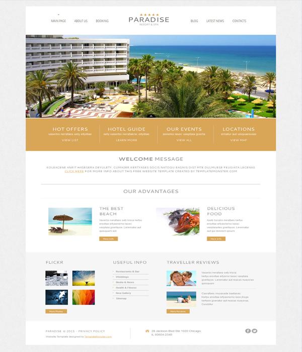Paradise-Free-hotel-wordpress-theme